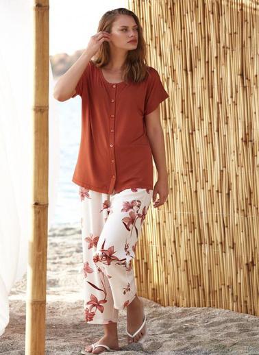 Penye Mood 8732 Pijama Takım Renkli